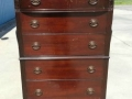 Unfinished Mahogany Chest of Drawers