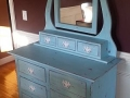 Blue Painted Dresser $425.00