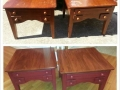 Refinished End Tables $125.00 each